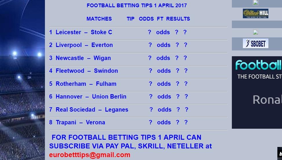 Royal - SATURDAY FOOTBALL BETTING TIPS 1 APRIL – EURO BETTING TIPS » Sure8Ball.com เวบยอดนิยม ...