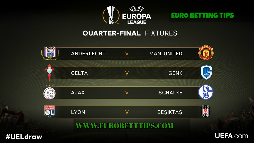 Europa league betting tips 13 april euro betting tips - Berging tips ...