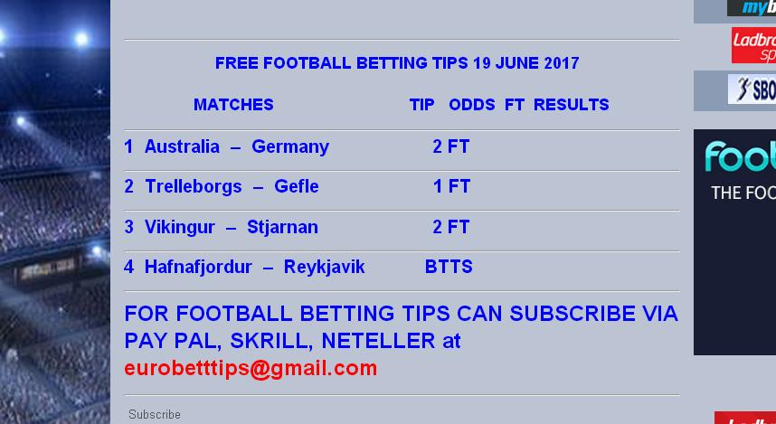 live football betting tips